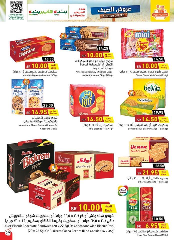 Panda discounts July 7 علي منتجات الطعام